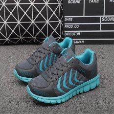 Spesifikasi Hang Qiao Fashion Wanita Sneakers Dilengkapi Ventilasi Mesh Menjalankan Olahraga Sepatu Arang Murah