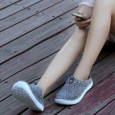 Jual Hang Qiao Musim Panas Pantai Sandal Berlubang Sepatu Travel Outdoor Wanita Leisure Sandal Pink Intl