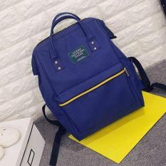 Hangkingkong Tas Ransel Wanita Import Batam Backpack Sekolah Kerja Model Korea Besar Muat Banyak Kekinian Terbaru - Black, Navy Blue, Army, RedMixWhite, Pink
