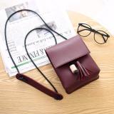 Harga Hangkingkong Tas Selempang Wanita Mini Sling Bag Korean Style Burgundy Merah Hangkingkong Online