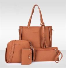 Promo Hanker Four Pieces Of Messenger Bag Handbag Mobile Phone Bag Card Bag Intl Di Tiongkok