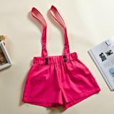 Hansifang Korea Fashion Style Perempuan Terlihat Langsing Membentuk Tepi Sling Celana Panas Warna Solid Celana Pendek Merah Mawar Warna Oem Murah Di Tiongkok