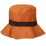 Beli Hanyu Lady Sunhats Musim Dingin Dan Musim Gugur Topi Orange Nyicil