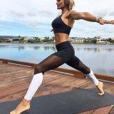 Spesifikasi Hanyu Wanita Patchwork Yoga Celana Olahraga Workout Berlari Cepat Kering Celana Perempuan Gym Fitness Kompresi Stretch Slim Tights Legging Hitam Putih Intl Lengkap