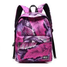 Promo Cotton Backpack Simple Breath Of Fresh Air Chool Man Women Boys Girls Backpack Shoulders Intl Di Tiongkok