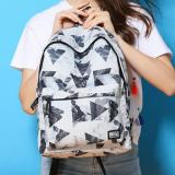 Cotton Backpack Simple Breath Of Fresh Air Chool Man Women Boys Girls Backpack Shoulders Intl Oem Diskon 40
