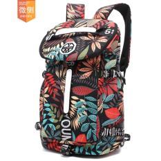 Promo Toko Haotom Cotton High Kapasitas Backpacking Kedua Bahu Pria Dan Wanita Fashion Motion Leisure Pariwisata Bodybuilding Luggage Bag Intl