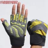 Jual Beli Online Haotom Mens And Wanitas Outdoor Mountaineering Sepeda Kebugaran Shockproof Non Slip Olahraga Sarung Tangan Half Finger Sarung Tangan