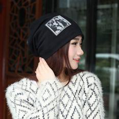 Harga Haotom Wanita Lengan Topi Kepala Topi Sorban Kurungan Cap Untuk Wanita Lady S Kepala Memakai Kain Aksesori Hitam Intl Satu Set