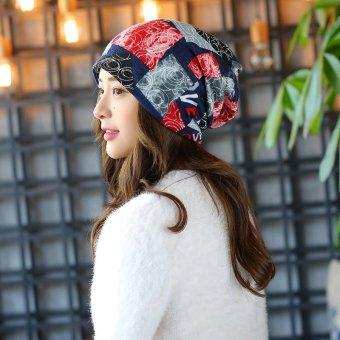 Beli sekarang Haotom Wanita Lengan Topi Kepala Topi Sorban Kurungan Cap  untuk Wanita 6efcca7199