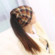Kualitas Haotom Wanita Lengan Topi Kepala Topi Sorban Kurungan Cap Untuk Wanita China Lady S Kepala Memakai Kain Kekuatan Tinggi Hot Kuning Intl Haotom