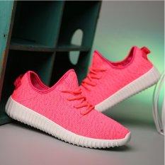 Happy Beli Baru Kelapa Sepatu Kasual Sepatu Wanita Pagi Berkualitas Tinggi Bernapas Mesh Sepatu-Intl