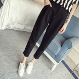 Diskon Looesn Korean Style Harlan Style Student Casual Pants Ankle Length Pants Sifon Celana Branded