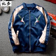 Toko Harajuku Korea Fashion Style Bordir Untuk Pria Dan Wanita Beberapa Model Jaket Jaket 3159 Bordir Walet Jaket Biru 3159 Bordir Walet Jaket Biru Jaket Pria Jaket Bomber Online Tiongkok