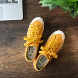 Harga Harajuku Korea Perempuan Renda Sepatu Putih Mahasiswa Global Yang Kuning Universal Terbaik