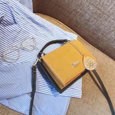 Jual Harajuku Memukul Warna Lulur Tas Kecil Kuning Online