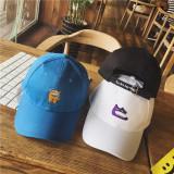 Jual Harajuku Retro Untuk Pria Dan Wanita Musim Panas Topi Baseball Visor Topi Anak Topi Biru Grosir