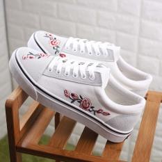 Spesifikasi Harajuku Siswa Sepatu Hitam Putih Baru