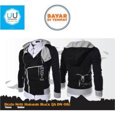 Review Harakiri Style Hoodie Death Note Jaket Anime Death Note Ja Dn 06 Black Di Jawa Barat