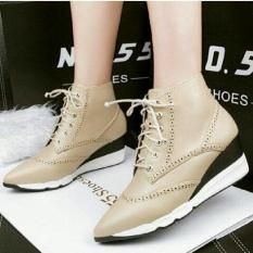 Harga Obral !! BOOT SNEAKERS MERMAID SHURIKEN(CREAM) Termurah Se- Shopee