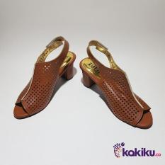 Harga Promo !!  Sepatu High Heels Tulip Simple TS18 Merah Bata / Super Diskon Termurah  Ter-MURAH