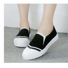 Harga Promo !!   Sepatu Wanita Kets Slip On SDS136   Ter-MURAH
