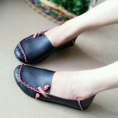 Harga Promo !!     Sepatu Wanita Murah - Flat Shoes - US49 - Hitam  Ter-MURAH
