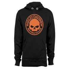 Harley Davidson Skull Hoodie Hitam Promo Beli 1 Gratis 1
