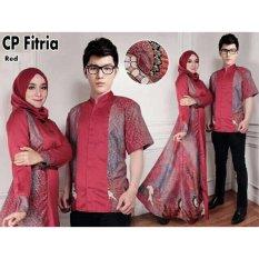 ALB Couple Syari Fitria  - Merah - Couple Suami Istri