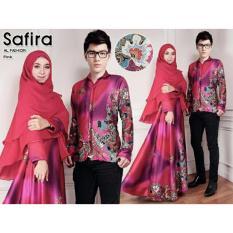 Hasanah Couple Syari Safira - Pink - Couple Suami Istri