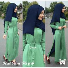 Hasanah Fashion Rabbani Maxi - Green