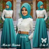 Toko Hasanah Fashion Rana Maxi Tosca Termurah