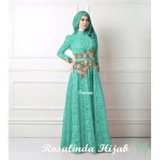 Spesifikasi Hasanah Fashion Rosalinda Maxi Brukat Tosca Yang Bagus