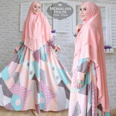 Hasanah Fashion Syari Hulya PeachIDR556000. Rp 556.000