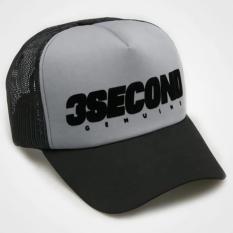 Hat 3SECOND - PUTIH HITAM