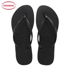 Havaianas Hitam Emas Sendal Sandal Jepit (Hitam)