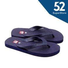 Ando Sandal Jepit/Flip Flop Pria Hawaii Man - Navy Size 38/44