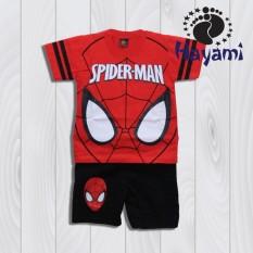 Beli Hayami Baju Kaos Anak Laki Laki Spiderman Merah Dki Jakarta
