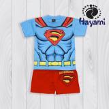 Harga Hayami Baju Kaos Anak Laki Laki Superman Biru New