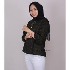 HaymeeStore Baju Kantor Wanita Baju Atasan Cewek Baju Blouse Casual Cewe Pakaian Kantor Formal Premium