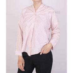 Jual Haymeestore Baju Kemeja Riwis Wanita Atasan Blouse Kantor Cewek Baju Atasan Wanita Premium Original