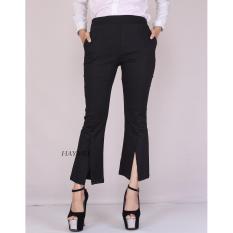 Obral Haymeestore Celana Cutbray Office Pants Cotton Twil Hq Bawahan Cutbray Wanita Celana Premium Cutbrai Murah