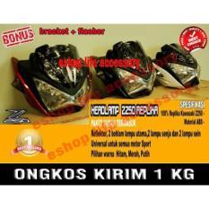 Headlamp Z250 Kw Batok Lampu Lamp Utama Depan Modif Motor Sport - 6Dq5co