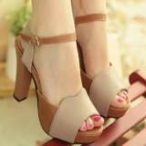 Jual Heels Tropikal Branded Original