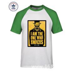 heisenberg breaking bad Funny Cotton t shirt