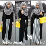 Helena Hijab Set 4In1 Black Diskon Dki Jakarta