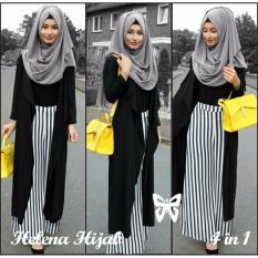 Beli Helena Hijab Set 4In1 Black Cicilan