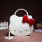 Cuci Gudang Hello Kitty Imut Baru Tas Bahu Dengan Satu Tali Selempang Miring Tas Wanita Putih