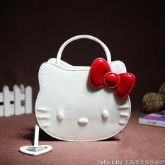 Promo Hello Kitty Imut Baru Tas Bahu Dengan Satu Tali Selempang Miring Tas Wanita Putih Hello Kitty Terbaru