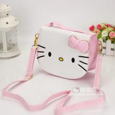 Gaya Korea hellokitty tas tangan anak prempuan tas selempang Imut anak-anak  Tas tas putri e76ac80ffd
